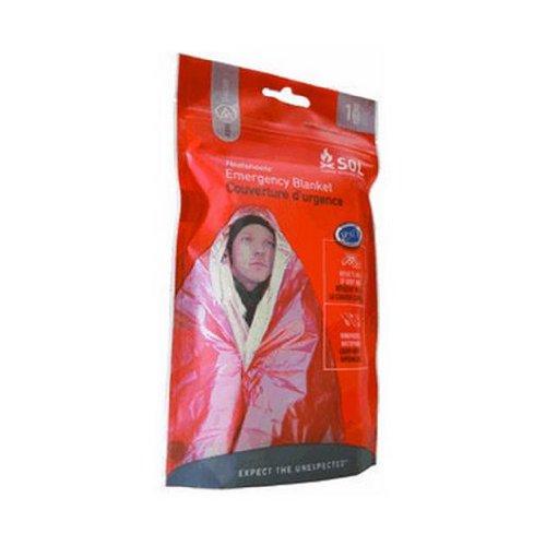 S.O.L. Survive Outdoors Longer 90 Percent Heat Reflective Emergency - Unisex Pocket Top Marathon One