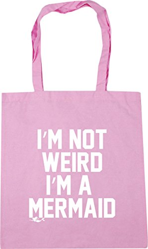 Gym 10 Pink a litres HippoWarehouse Bag 42cm Beach Classic Shopping mermaid weird I'm not I'm x38cm Tote qqawIO8