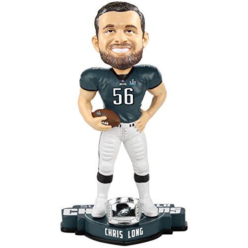 (FOCO Philadelphia Eagles Bobble Chris Long #56 Super Bowl 52 Champs)