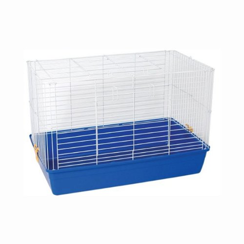 Prevue Hendryx Small Animal Blue Base With Double Door Tubby Cage 523
