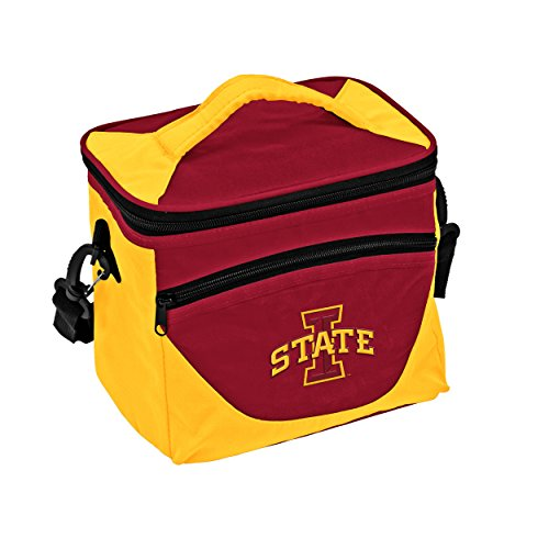 Iowa State Cyclones Lunch - Logo Brands Collegiate 9-Can Halftime Cooler with Front Dry Storage Pocket and Shoulder Strap