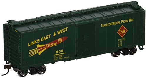 Bachmann Trains Toledo Peoria And Western 40' Box Car-Ho ()