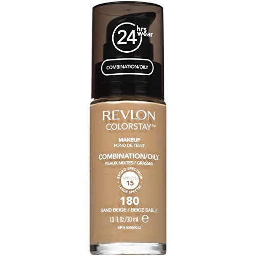 Revlon ColorStay Liquid Makeup for Combination/Oily, Sand Beige