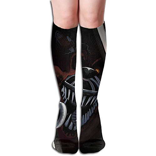 レンディション全く宿フレディーズの5泊 3D印刷デザイン 女性の男性 秋と春 フリースタイルのデザインソックス ファッションかわいい 弾性 薄型 靴下 高校生 ティーンエージャー フォーシーズンズ