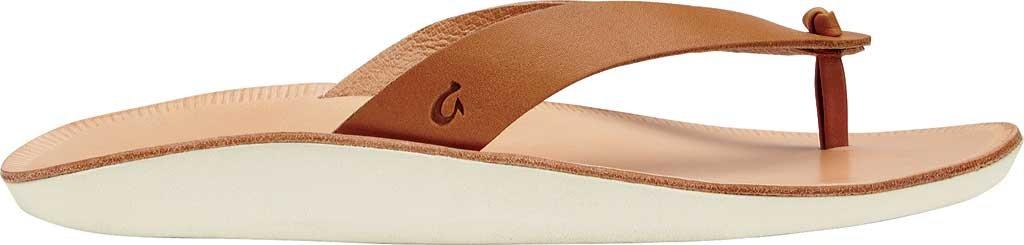OLUKAI Women's Loea Thong Sandal B010E9R3KG 9 B(M) US|Mustard/Bone