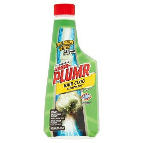 Liquid-Plumr Pro-Strength Clog Remover, Hair Clog Eliminator, 16 Fluid Ounces (2 Pack) by Liquid Plumbr (Image #5)