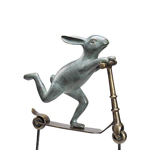 Buy spi scooter bunny garden sculpture