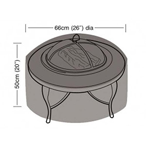 Garland Small Firepit Cover in Weather proof UV-protective material