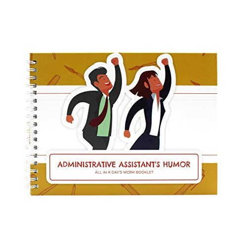 Assistant Sticker - Accountant Gift - Administrative Assistant Gifts All in a Day´s Edition Booklet - The Perfect Idea for a Present to Recognize Every Professional Work - Comes with a Matching Card and Stickers