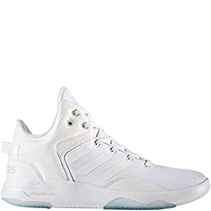 adidas Originals Men's CF Revival Mid Basketball Shoe, White/White/Grey Two, 11.5 Medium US
