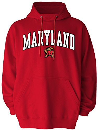 NCAA Maryland Terrapins Pullover Hood, X-Large, (Maryland Terps Ncaa Hoody)