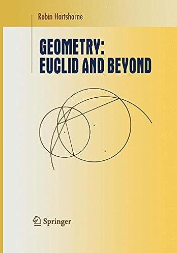 amazon com geometry euclid and beyond undergraduate texts in rh amazon com