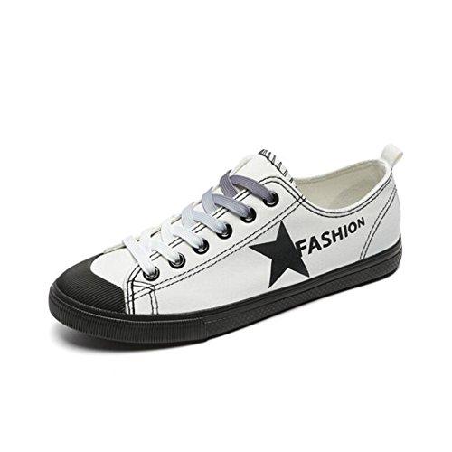 de Tabla Damas Lona Blanco de Mujer de Tabla Zapatos de de de Bajos Zapatos Mujer Estudiante Zapatos Respirables Color Zapatos de cómodos de Verano tamaño Zapatos 36 2018 5B4wWEqx