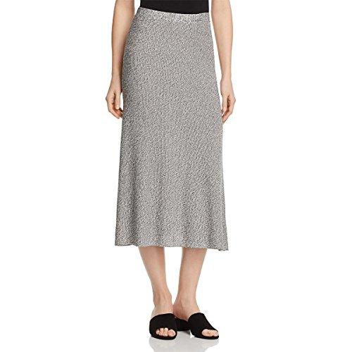 Eileen Fisher Womens Tencel Flare Flare Skirt B/W XL by Eileen Fisher