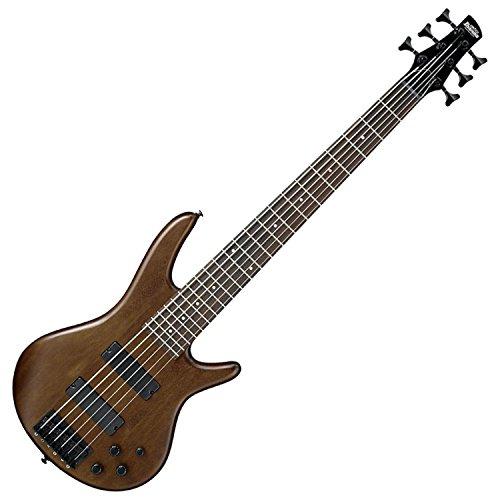 Ibanez GSR 6 String Bass Guitar, Right Handed, Walnut Flat (GSR206BWNF)