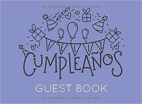 Feliz Cumpleaños: Libro de Visitas o Firmas para Fiesta o ...