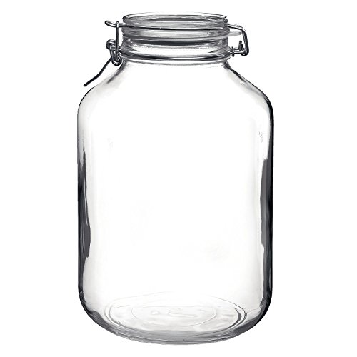 Bormioli Rocco Large Glass Fido Canning Jar - 5 ()
