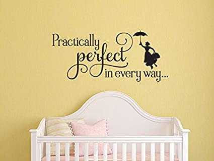 Amazon.com: Mary Poppins Inspired Practically Perfect in Every Way ...