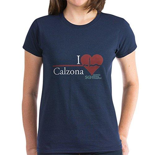 1d44b93e0e732 CafePress - I Heart Calzona - Grey s Anatomy Women s Dark T-Sh - Womens  Cotton