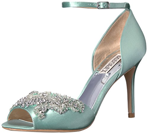 Badgley Mischka Women's Barker Heeled Sandal - Blue Radia...