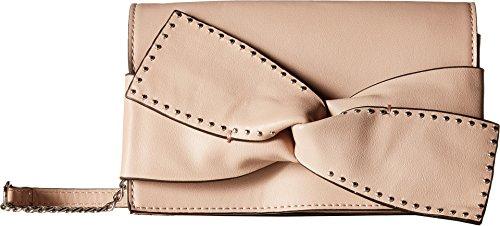 Beige Signature Flap - Jessica Simpson Women's Kandiss Flap Shoulder Powder Blush One Size
