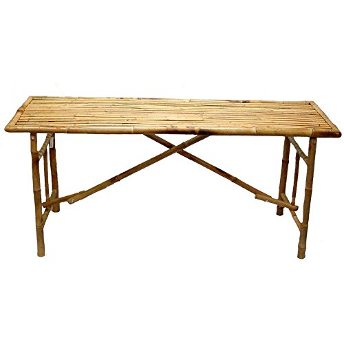 Bamboo Folding Table (Bamboo Dining Table And Chairs)
