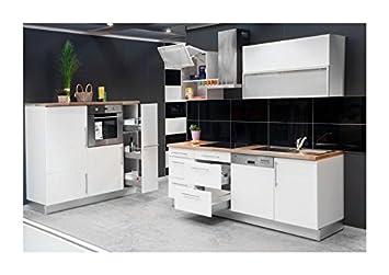 Küchenzeile design  Mebasa MCZK600BW Küche, Hochwertige Küchenzeile, Design Küchenblock ...