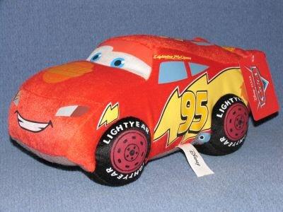 Disney Pixar Cars - Lightning Mcqueen Plush Doll Pillow