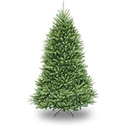 National Tree 7.5 Foot Dunhill Fir Christmas Tree, Hinged (DUH-75)