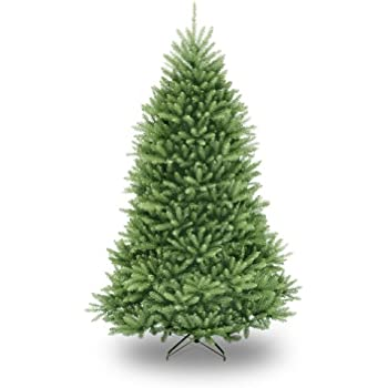 national tree 75 foot dunhill fir christmas tree hinged duh 75 - Real Looking Christmas Trees