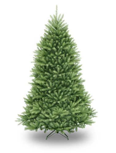 National Tree 7.5 Foot Dunhill Fir Christmas Tree, Hinged - Full Christmas Trees