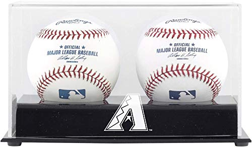 (Arizona Diamondbacks Two Baseball Cube Logo Display Case)