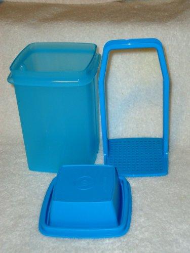- Tupperware Mini Pick-A-Deli Square Container - Aqua