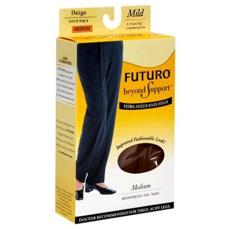 Futuro Energizing Ultra Sheer, Knee Highs for Women, Mild...