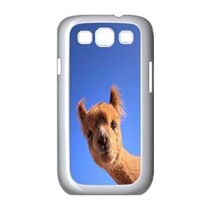 Adorable alpaca Unique Design Case for Samsung Galaxy S3 I9300, New Fashion Adorable alpaca Case