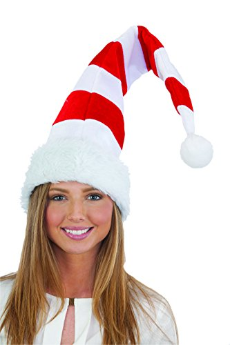 [Jacobson Hat Company Women's Light-Up Elf Hat, White, Adult] (Elf Hats For Adults)