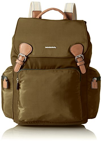 comma Any Time Clair Backpack Mvf - Bolso mochila Mujer Verde (Khaki 104)