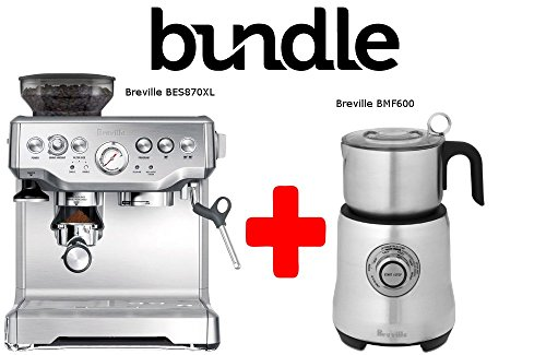 Bundle Bes870xl plus Bmf600 by Breville