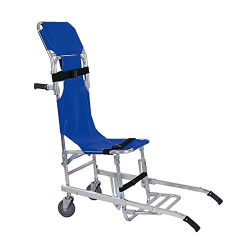 XIHEJD Stair Chair,Chair Lift for Stairs Foldable with Quick Release Buckles Evacuation Stair Stretcher Chair for Disabled and Eldrly