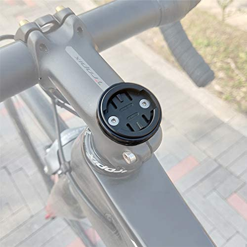 Thinvik Bicycle Stem Headset Top Cap Mount for Wahoo Mini Wahoo Elemnt Elemnt Bolt,Elemnt Roam GPS Bike Computer – CNC Aluminum Alloy