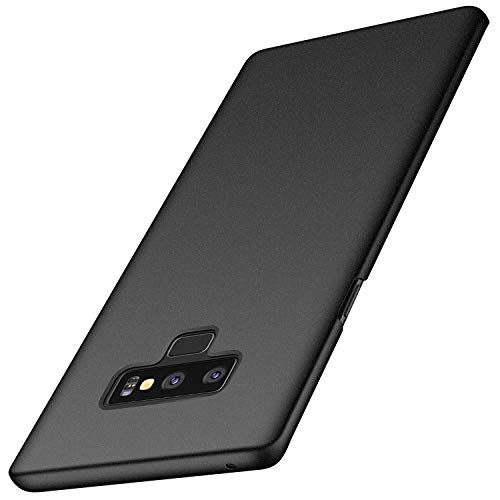 anccer Compatible for Samsung Galaxy Note 9 Case [Colorful Series] [Ultra-Thin] [Anti-Drop] Premium Material Slim Full Protection Cover for Samsung Galaxy Note9 (Gravel-Black)