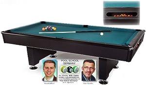 Billardtisch Black Pool - 8 ft. Billard Tisch