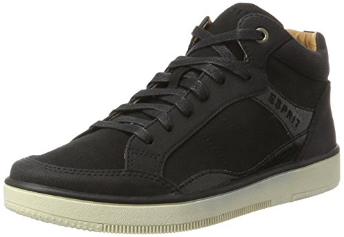 Esprit Dames Verlangen Bootie Hoge Sneaker Zwart (black)