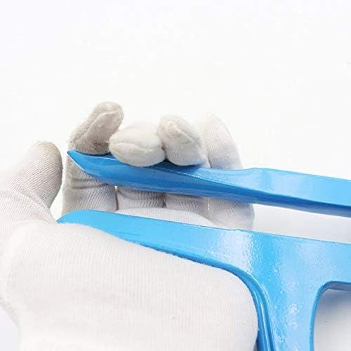 プレッシャーケースツールアルミニウムグランドクランププレッシャーウォッチバックカバー-ブルー