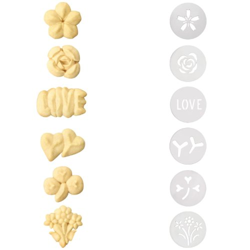 OXO Good Grips Cookie Press Springtime Disk Set , Set of 2