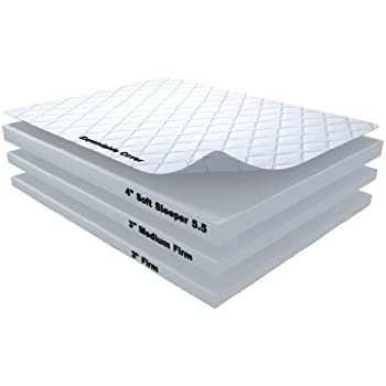 Amazon Com 10 Inch Soft Sleeper 5 5 Twin Xl Rv Truck Mattress Bed With 4 Inches Of Visco