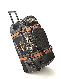 "Harley Davidson 33"" Wheeled Equipment Duffel, Black"