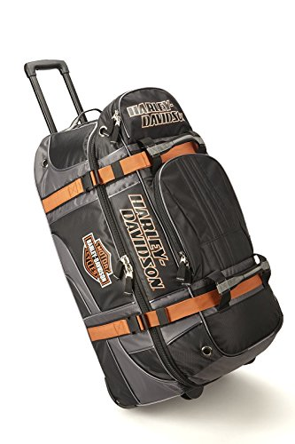 Harley Davidson 22'' Wheeled Equipment Duffel, Black by Harley-Davidson