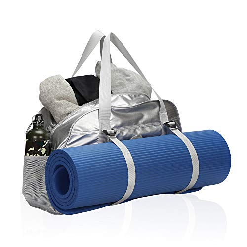 Hynes Eagle Yoga Mat Bag Sport Duffel for Gym Travel Bag 35L Silver 2018 (Atafa Yoga Mat Bag)