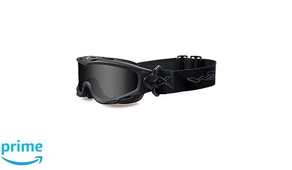 a992847643 WILEY X SPEAR Smoke Grey/Clear Matte Black Frame: Amazon.es: Deportes y  aire libre